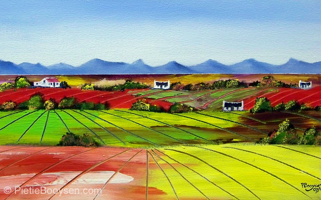 Farmlands by Pietie Booysen