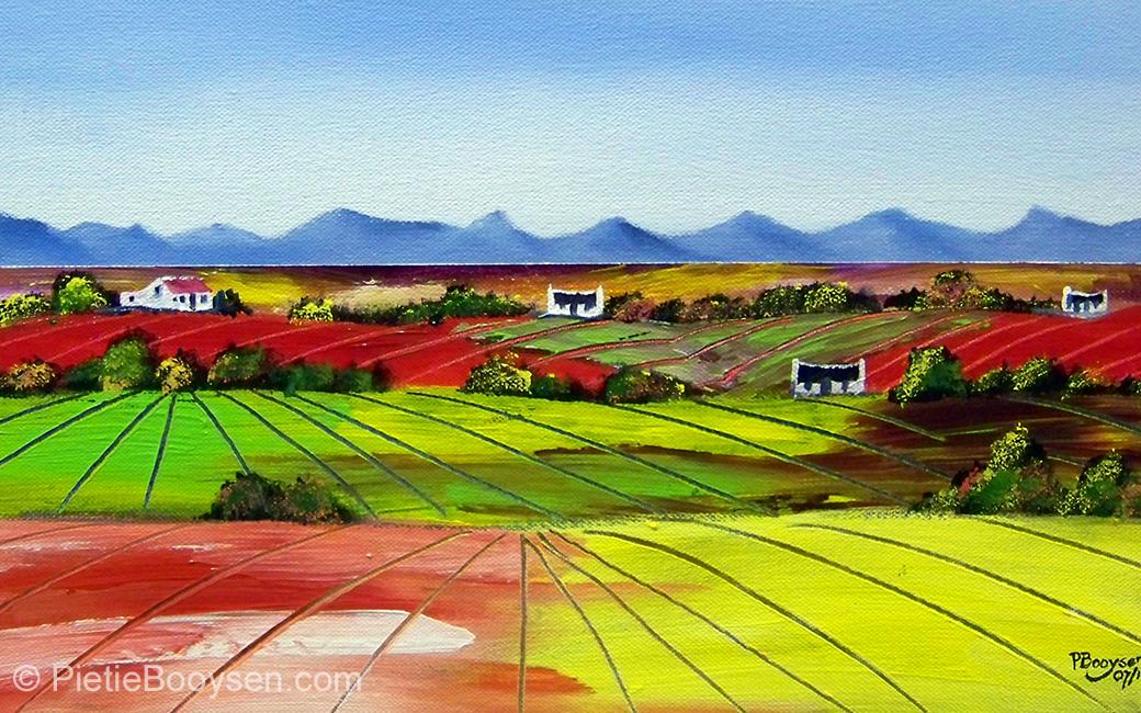 Farmlands by Pietie Booysen