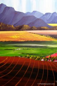 Hex River Valley by Pietie Booysen