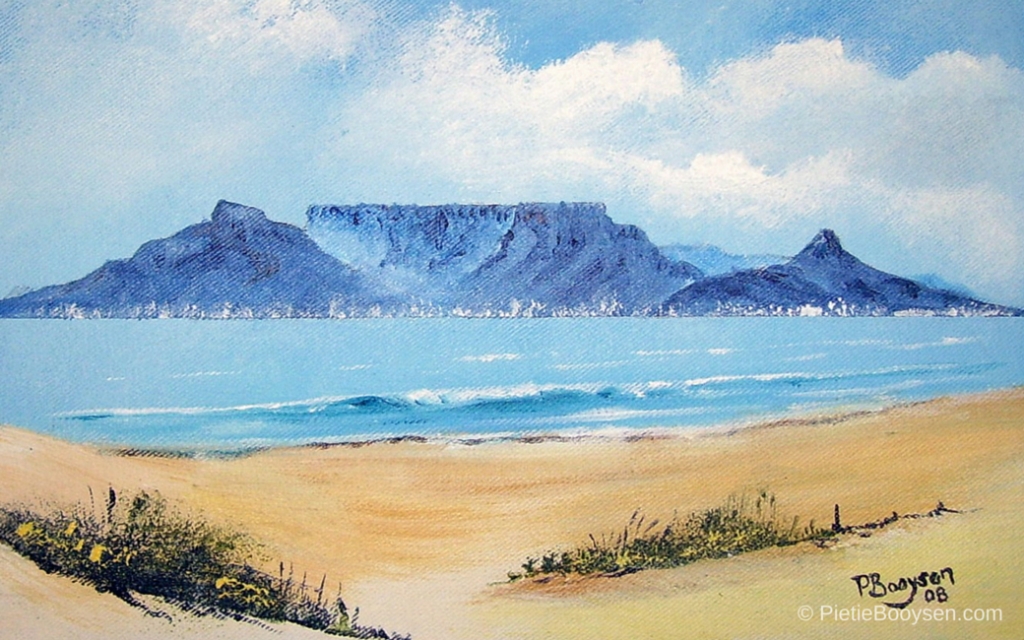Table Mountain by Pietie Booysen